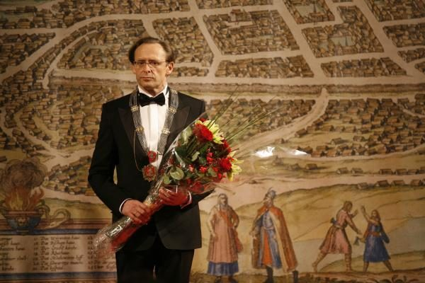 R.Aleknai suteiktos Vilniaus mero regalijos