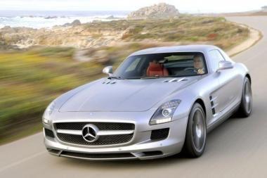 """Gražiausias Europoje – """"Mercedes-Benz SLS AMG"""""""