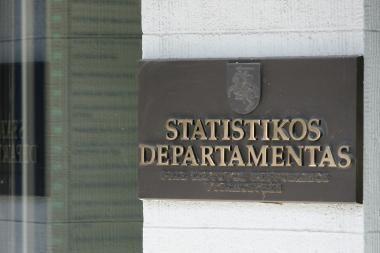 Statistikos departamentui - 20 metų
