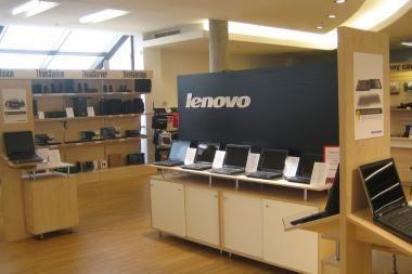 """Pirmoji Lietuvoje specializuota """"Lenovo"""" parduotuvė"""