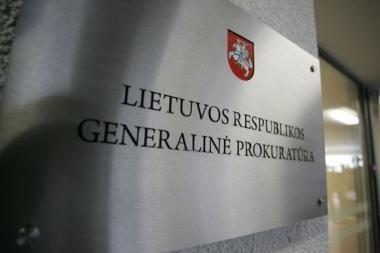 Naujasis generalinis prokuroras bus skiriamas trumpesnei kadencijai
