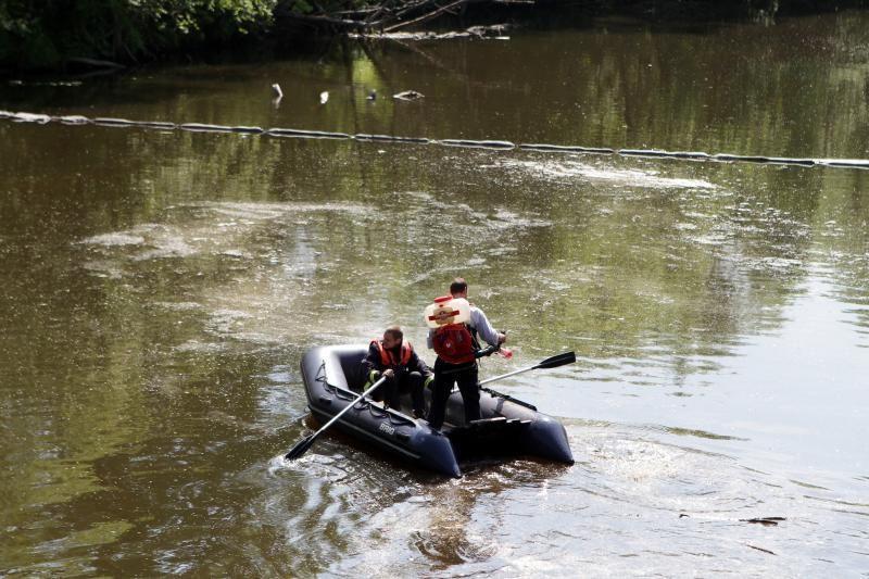 Danės upėje – naftos produktai (papildyta)