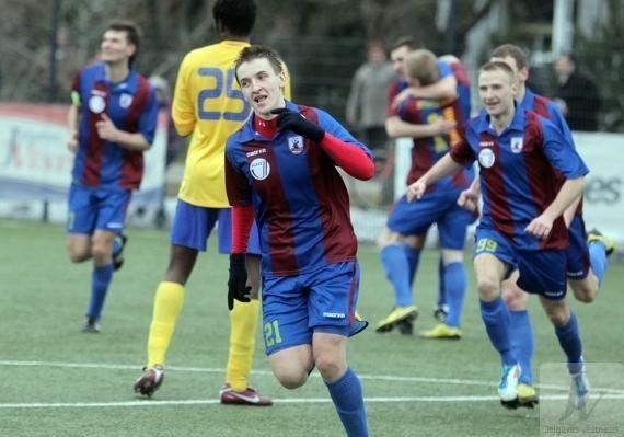 Klaipėdiečiai savo ekipai padėjo įveikti Latvijos futbolo čempioną