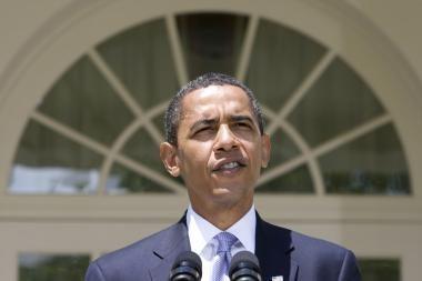 B.Obama ragins galingiausias pasaulio šalis paremti jo Artimųjų Rytų taikos pastangas