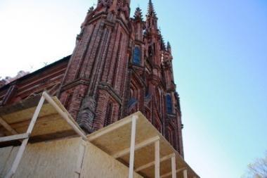 Akcija šv.Onos bažnyčiai išsaugoti
