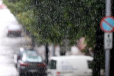 Trakų Vokėje iškrito stichinis lietaus kiekis