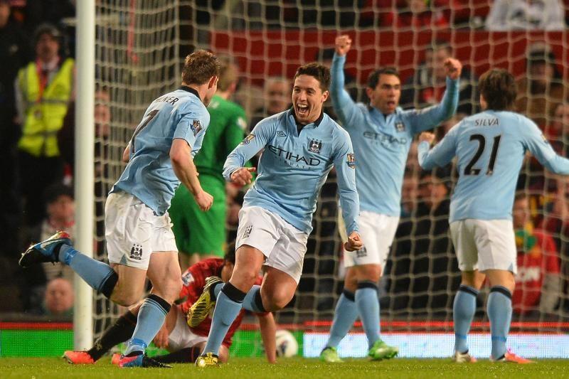 """""""Man City"""" klubas po įtemptos kovos triumfavo Mančesterio derbyje"""