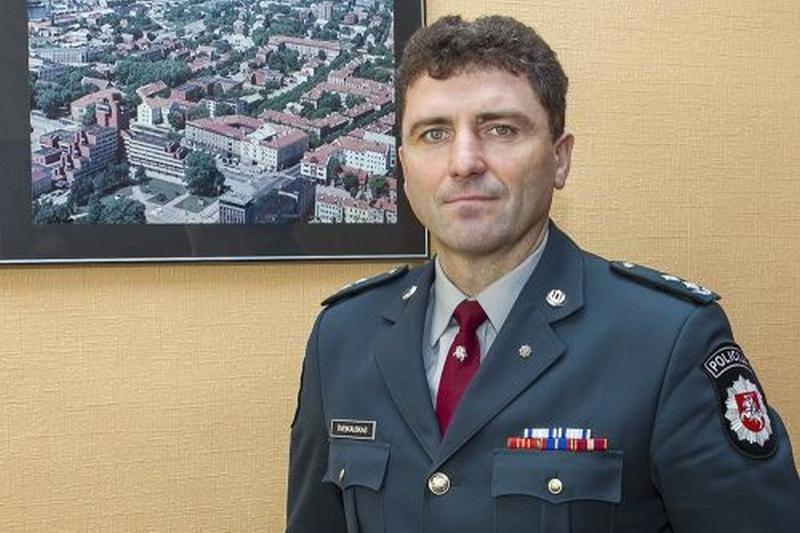 Klaipėdos apskrities policija turi naują viršininko pavaduotoją