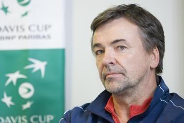 Teniso rinktinės kapitonas R.Balžekas: optimizmo niekuomet neprarandame