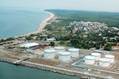 Suskystintų gamtinių dujų terminalo projektą plės