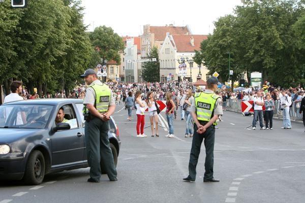 Jūros šventė Klaipėdoje koreguos automobilių eismą