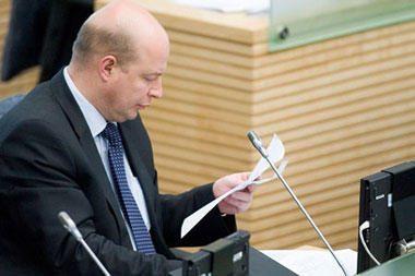 Generalinis prokuroras prašys panaikinti Seimo nario V.Babiliaus neliečiamybę