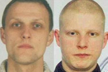 Didžiojoje Britanijoje slapstosi du labai pavojingi lietuviai
