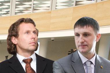 Seimas sutiko pradėti A.Sacharuko ir L.Karaliaus apkaltas (papildyta 11.15 val.)
