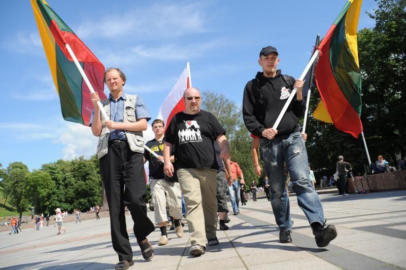Nacionalistines eitynes norima rengti Vilniaus senamiestyje