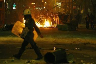 Graikai protestuoja prieš policijos savivalę