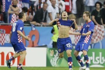 """""""Euro 2008"""": Kroatija – Vokietija 2:1"""