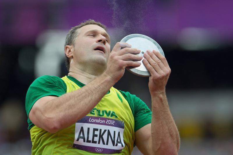 Tarptautinėse ISTAF lengvosios atletikos varžybose - V.Alekna antras