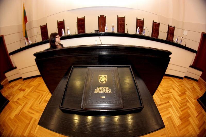 Konstituciniame Teisme - 2009 metų biudžetai