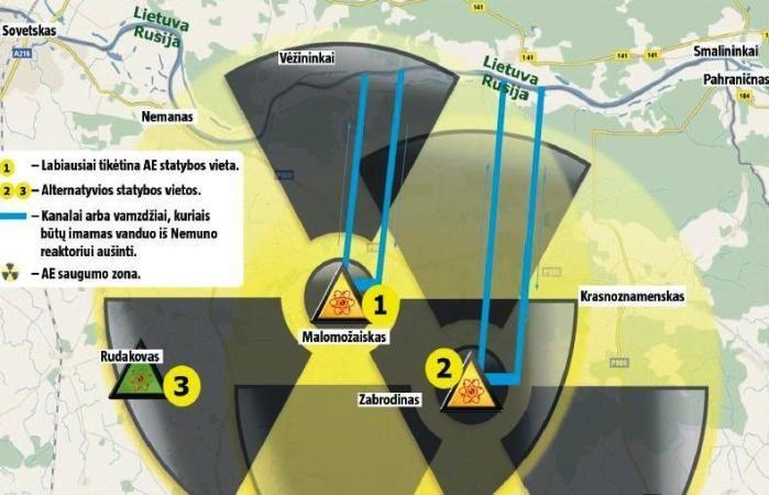 Baltarusijos atstovas: Astravas yra tinkamiausia vieta atominei jėgainei