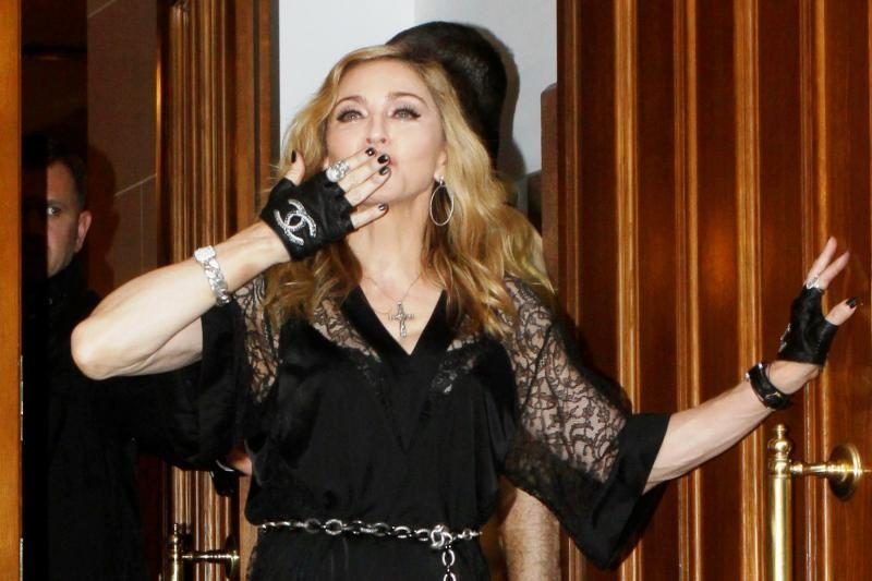 Rusijos vicepremjeras teigia, kad jo žinutė nebuvo įžeidimas Madonnai