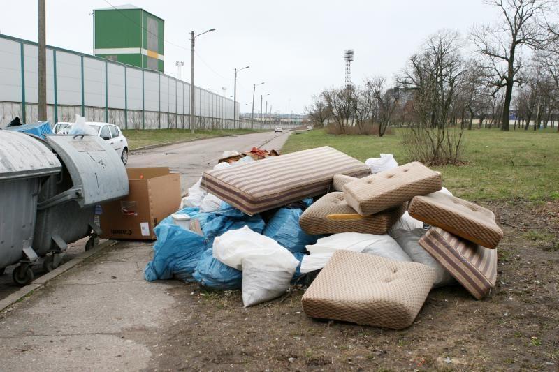 Klaipėdoje statomos didžiųjų atliekų surinkimo aikštelės