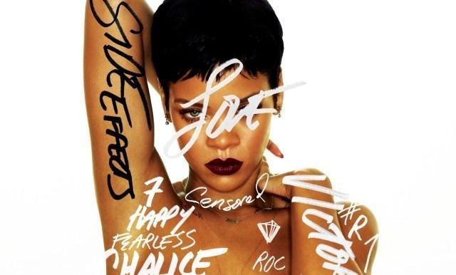 Provokuojanti ir drąsi: Rihanna apsinuogino naujo albumo viršeliui
