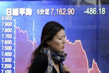 Finansų krizė neaplenkė ir Japonijos