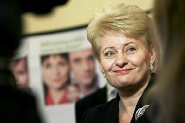D.Grybauskaitė pasveikino lenkiškai, B.Komorowskis padėkojo lietuviškai