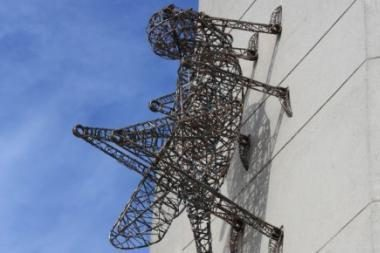 Vilniuje atidengta įspūdinga skulptūra