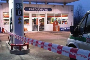Vilniuje mėginta apiplėšti degalinę