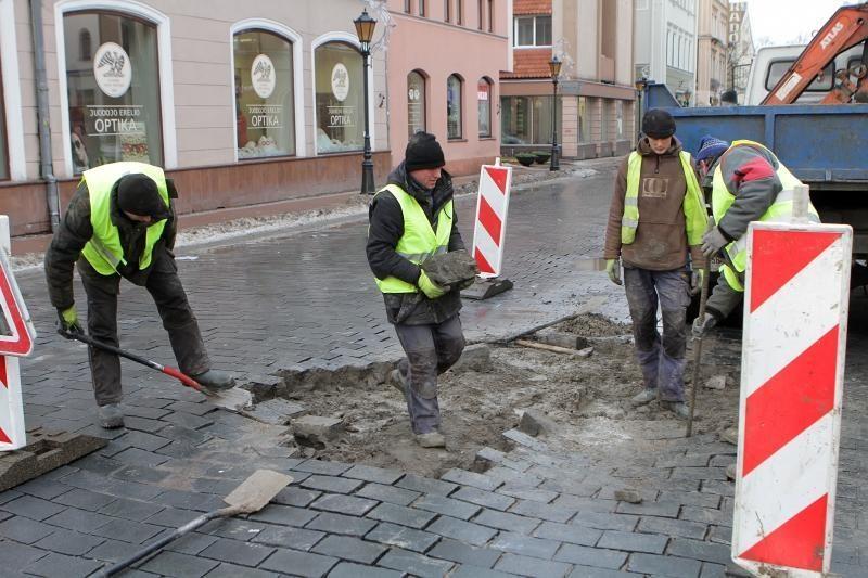 Prieš pirmininkavimą ES - Vilniaus gatvių remontui skirta 40 mln.