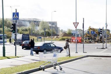 Pėsčiųjų viadukas į Klaipėdos areną – jau popieriuje