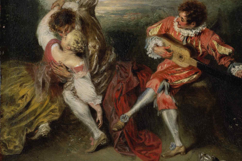 Kitąmet Vilniuje bus surengta A.Watteau paroda iš Luvro fondų
