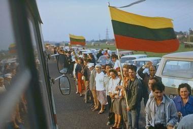 """Lietuva minės """"Baltijos kelio"""
