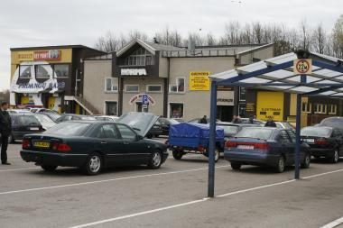 Užsienyje vogta mašina surasta Klaipėdoje