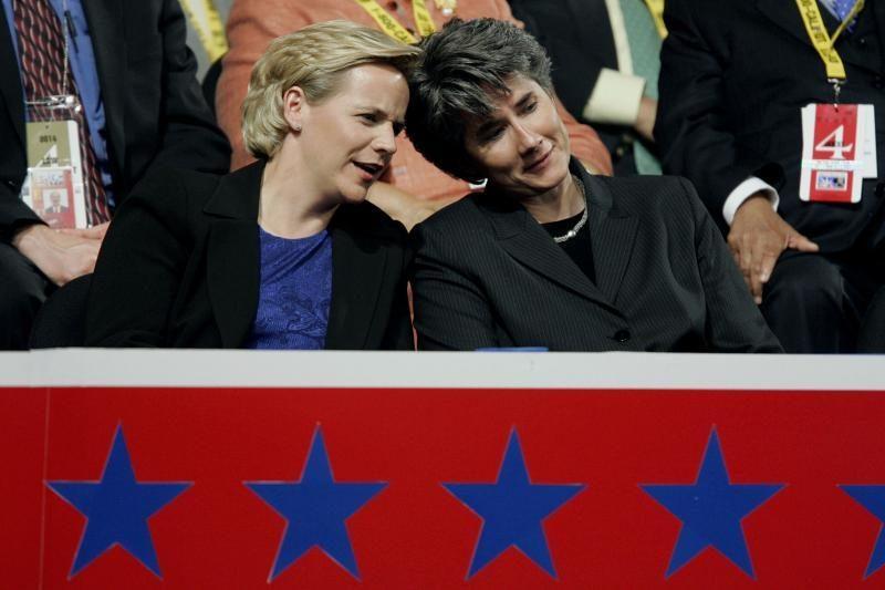 Buvusio JAV viceprezidento dukra Mary vedė savo draugę