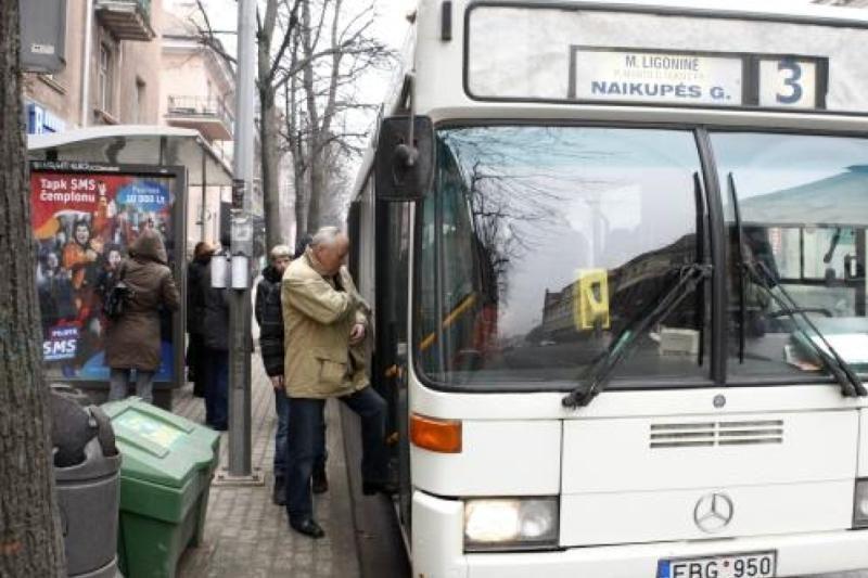 Uostamiestyje gali pigti kelionė maršrutiniais taksi