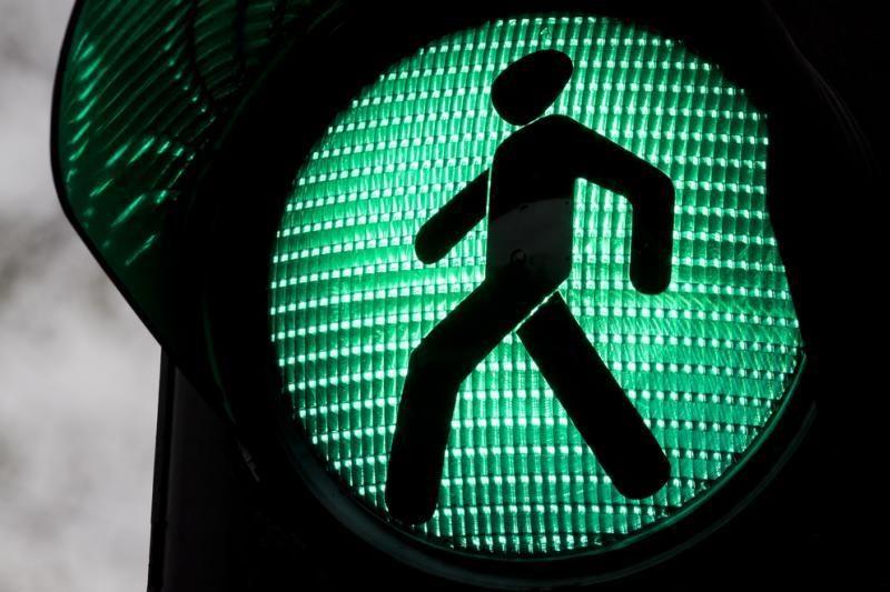 Transporto kamščių išvengti padės virtualūs šviesoforai