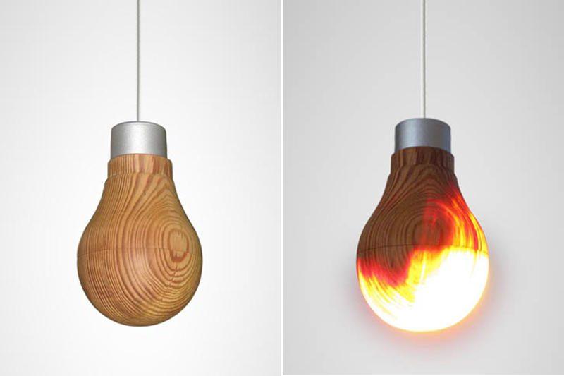 """""""Medinė"""" lemputė: o vis dėl to ji šviečia"""