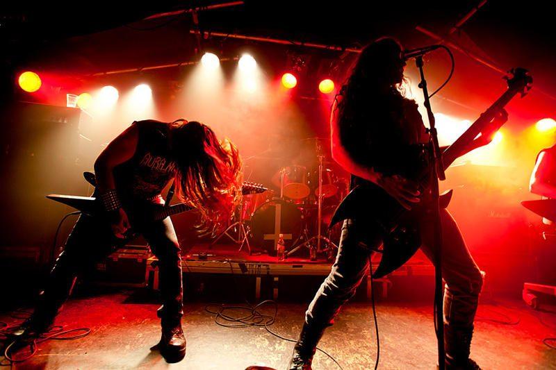 """Aura Noir"" – ekstremaliausia festivalio ""Velnio akmuo"" grupė"