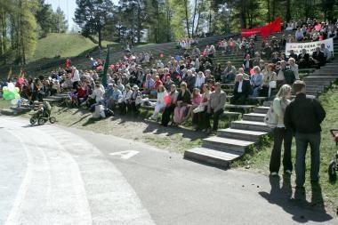 """Nuo šiol mitingai Vilniuje vyks Kalnų parke arba prie """"Siemens"""" arenos"""