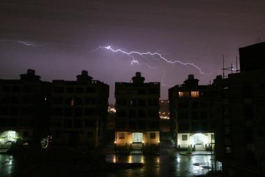Egiptas: per audrą 4 žmonės žuvo, mažiausiai 50 sužeista
