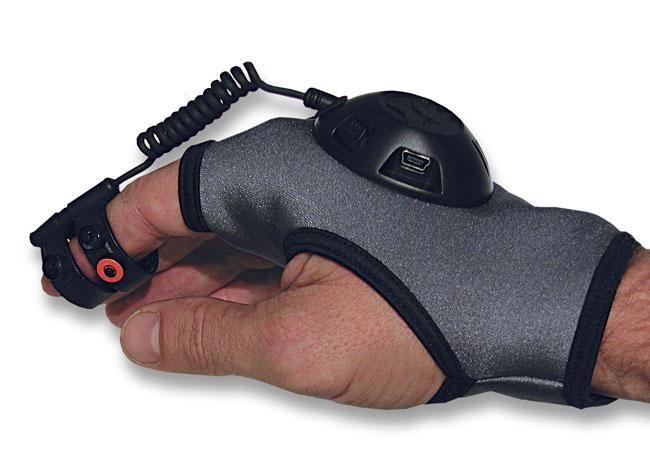 """Pelė-pirštinė """"Ion Air Mouse"""" nereikalauja darbo paviršiaus"""