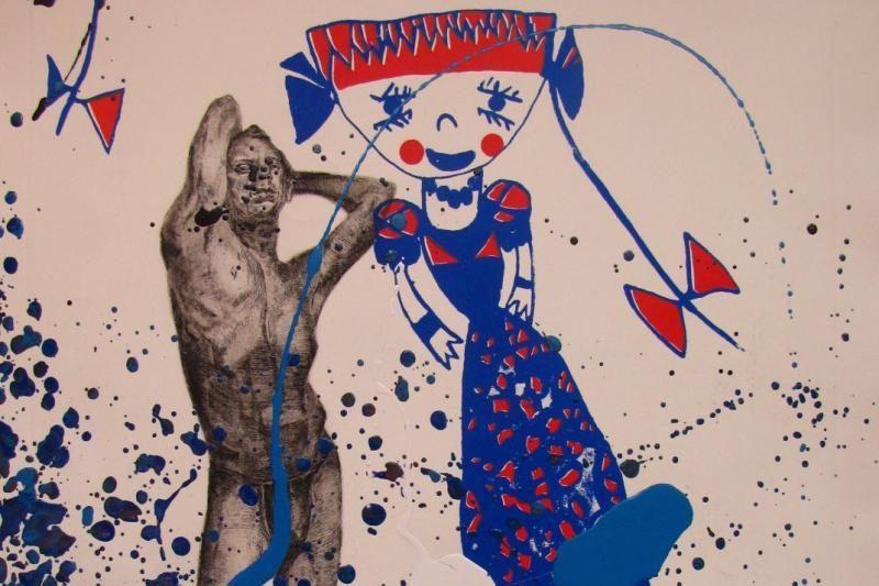 Jauna grafikė pristatys savo kūrinių parodą gimtojoje Klaipėdoje