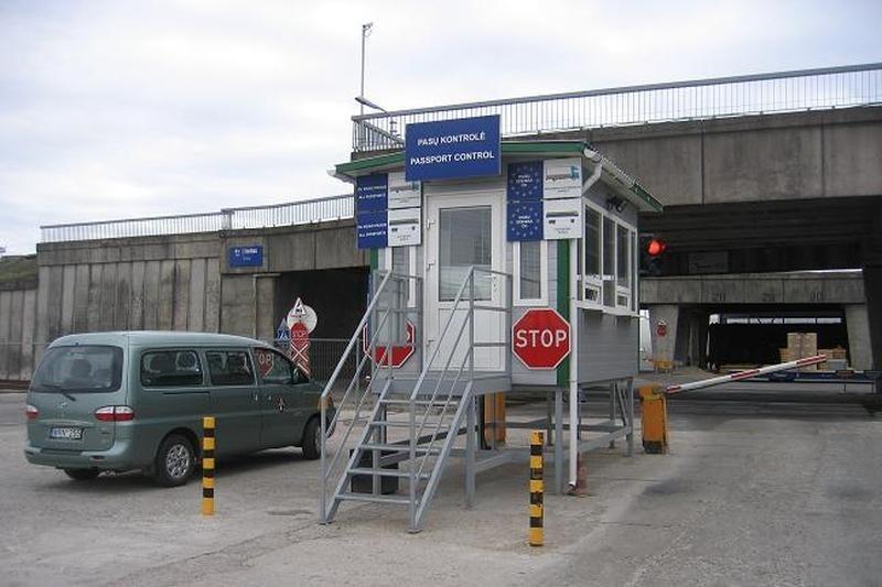 Klaipėdos uoste sulaikytas Šengeno erdvėje nepageidaujamas vyras