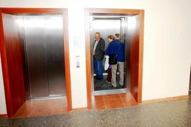 Sostinės gyventojai - neveikiančių liftų įkaitai