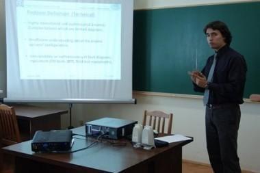 VGTU: Orlaivių kompiuterių sistemų magistro darbą apgynė pirmas užsienietis