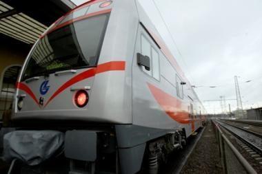 Vilnių ir Minską gali sujungti greitasis keleivinis traukinys