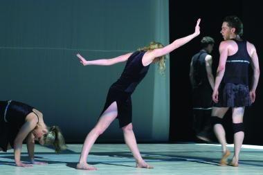"""""""Aura"""" Vokietijoje kuria naują šokio spektaklį"""
